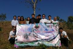 B.P 15 cooperate with Mae Krating Power plant a tree in Phrae Province