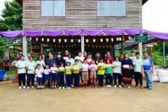 B.P 15 cooperate with Mae Krating Power,  Community volunteer service